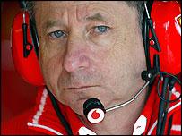 Ferrari sporting director Jean Todt