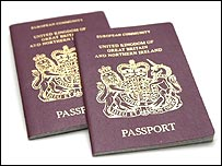 British EU passports