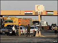 Syria-Iraq border crossing