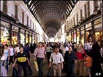 Shopping in Damascus