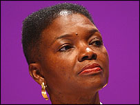 Lady Amos is the first black woman Cabinet minister