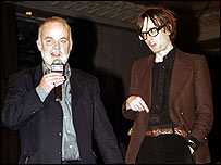 John Peel with Jarvis Cocker