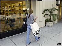 Shopper in the US