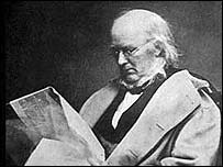 Democratic presidential candidate Horace Greeley