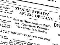 Wall Street Journal, 30 October, 1929