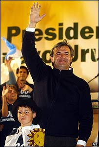 Jorge Larrañaga, candidato presidencial del Partido Blanco