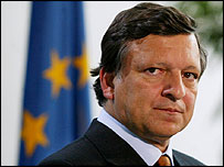 Incoming EU Commission President Jose Manuel Barroso