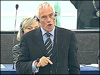 Robert Kilroy-Silk makes his point of order