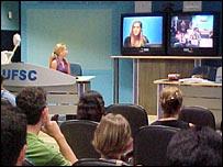 Videoconference at the Santa Catarina Federal University