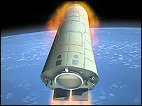 Artist's impression of Pre-X (Image: Eads Space)