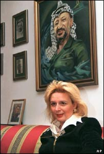 Yasser Arafat's wife Suha, in 1998