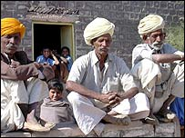 Villagers in Rajasthan 