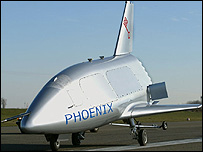 Phoenix vehicle (Image: Eads Space)