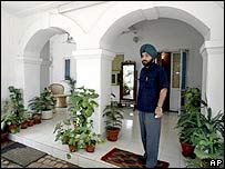 MP in his house