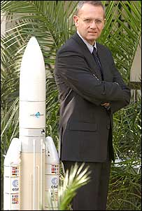 Arianespace chief executive Jean-Yves Le Gall (Image: Arianespace)