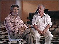 Edward Said and Daniel Barenboim