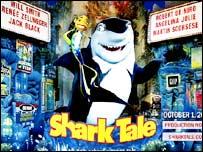 Shark Tale publicity shot