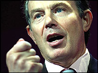 Tony Blair on Thursday