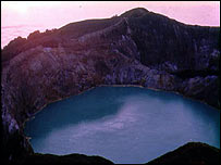 Mount Keli Mutu, Flores