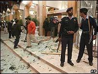 Blast scene in Islamabad
