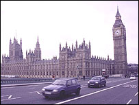 Houses of Parliament in London, archive picture