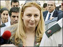 Suha Arafat, wife of Yasser Arafat
