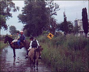 Escuela rural en Argentina