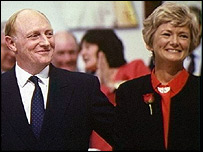 Neil and Glenys Kinnock