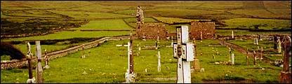 Cementerio en Irlanda
