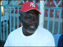 Moro United's Kenyan coach James Siang'a