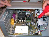 Re-conditioning a computer