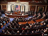 A joint session of Congress