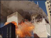 Torres gemelas, 11 de septiembre de 2001.