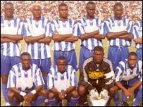 Senegalese club Jeanne d'Arc