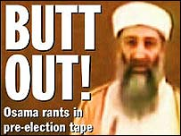 New York Daily News front page on Osama Bin Laden