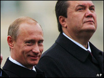Vladimir Putin and Viktor Yanukovych