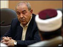 Iraqi Prime Minister Iyad Allawi