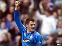 Thompson celebrates the opening goal