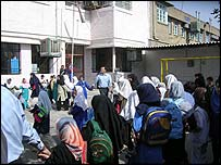 A school in the Shoush region of Iran