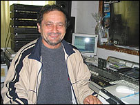 Milutin Kotrljanovic, Serb radio presenter
