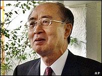 Japanese Special Envoy Yasushi Akashi