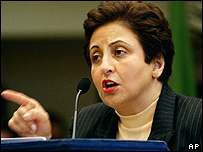 Shirin Ebadi, Iranian Nobel winner