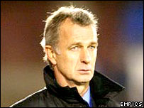 Scotland Under-21 manager Rainer Bonhof