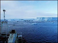Larsen B ice shelf   British Antarctic Survey