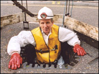Reporter Julian o'Halloran descends into a sewer