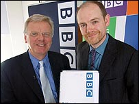 BBC chairman Michael Grade (left) and director general Mark Thompson