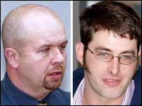 Mark Connolly and Roy Kennett are charged with manslaughter