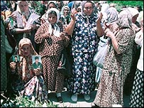 Widows of Srebrenica massacre