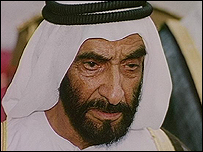 Sheikh Zayed bin Sultan al-Nahyan of Abu Dhabi