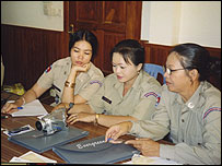 Anti-Human Trafficking and Juvenile Protection Unit training course